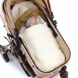 Mimixiong Baby Knitted Sleeping Bag 82W478