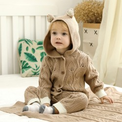 Mimixiong Baby Knitted Romper 82W479