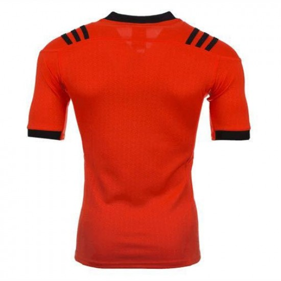 All Red 2017 Men's Training Jersey