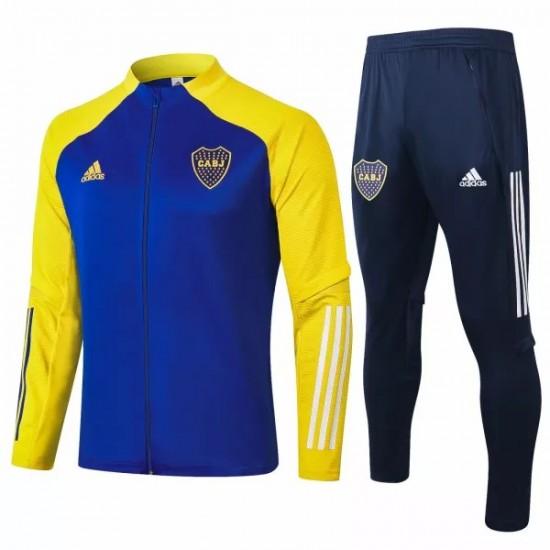 Adidas Boca Juniors Presentation Soccer Tracksuit 2020