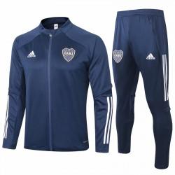 Adidas Boca Juniors Navy Presentation Soccer Tracksuit 2020
