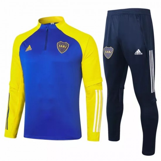Boca Juniors Training Soccer Tracksuit 2020 2021