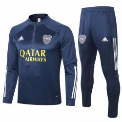 Adidas Boca Juniors Navy Training  Soccer Tracksuit 2020