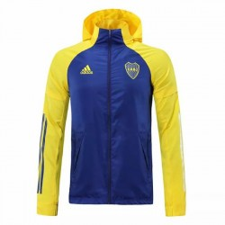 Boca Juniors All Weather Windrunner Jacket Blue 2020 2021