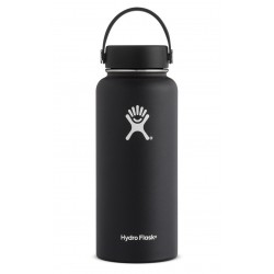 32 oz Hydro Flask Wide Mouth Black