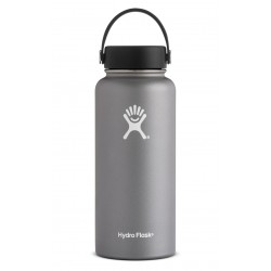32 oz Hydro Flask Wide Mouth Graphite