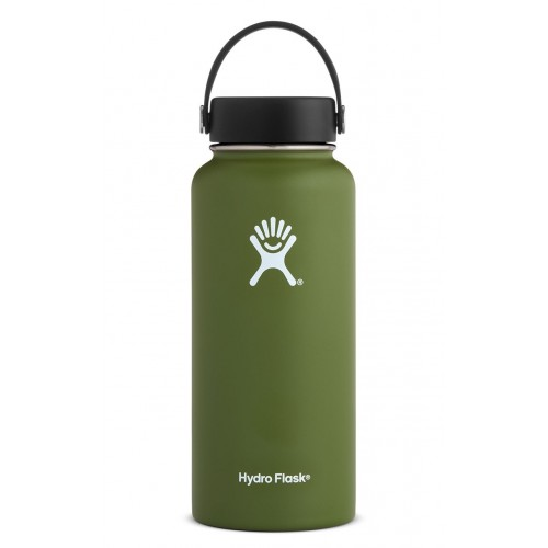 32 oz Hydro Flask Wide Mouth Olive