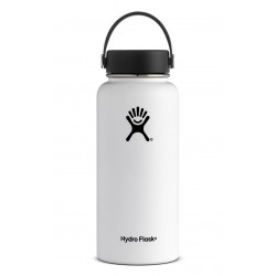 32 oz Hydro Flask Wide Mouth White