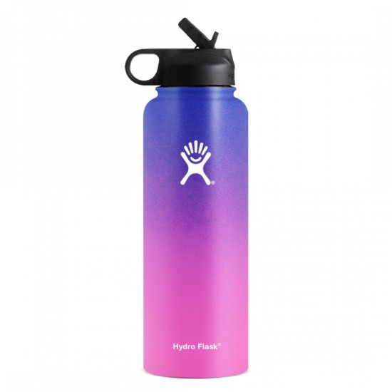 40 oz Wide Mouth Hydro Flask PNW Collection Wildflower