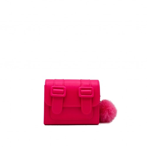 Merimies Belt Belt Mini Hot Pink Bag