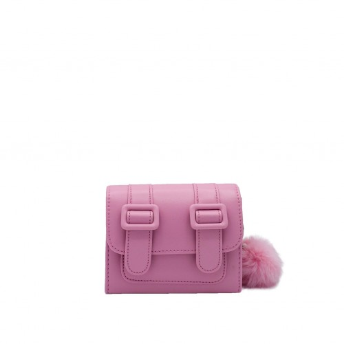 Merimies Belt Belt Mini Lemonade Pink Bag
