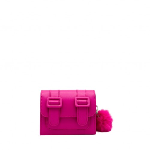 Merimies Belt Belt Mini Magenta Bag