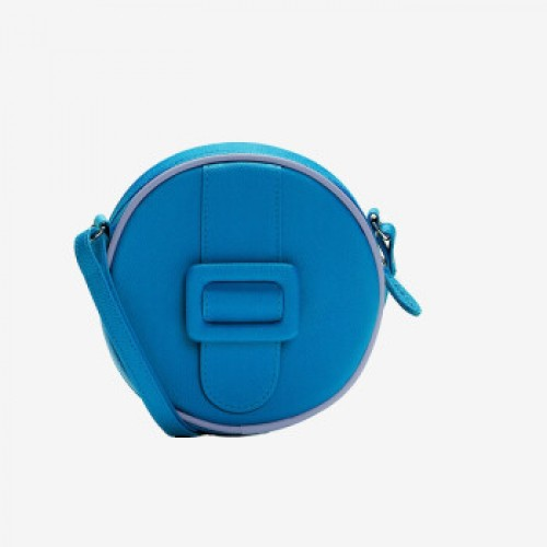 Merimies Candy Color Mini Round Bag Blue