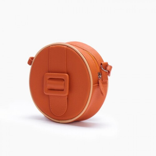 Merimies Candy Color Mini Round Bag Orange