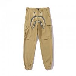 BAPE Shark Pants Khaki