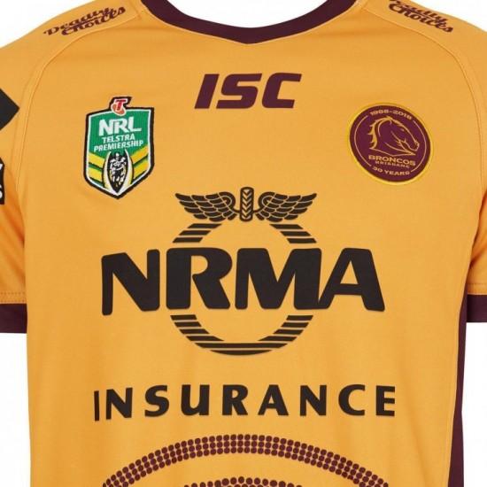 Brisbane Broncos 2018 Men's Indigenous Jersey