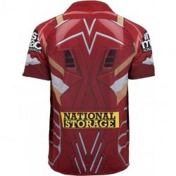 Brisbane Broncos 2017 Men's Iron Man Marvel Jersey