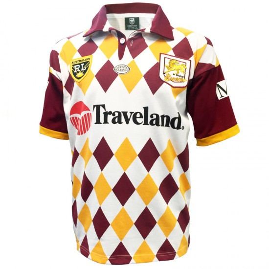 Brisbane Broncos 1995 Retro Jersey