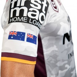 Brisbane Broncos 2019 Men's ANZAC Jersey