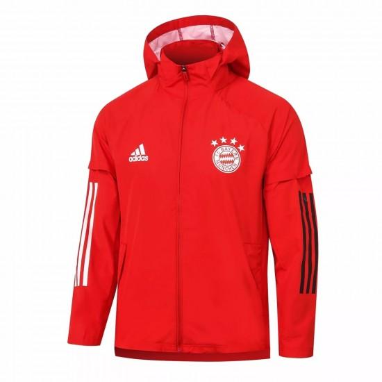 FC Bayern Training Presentation Jacket Red