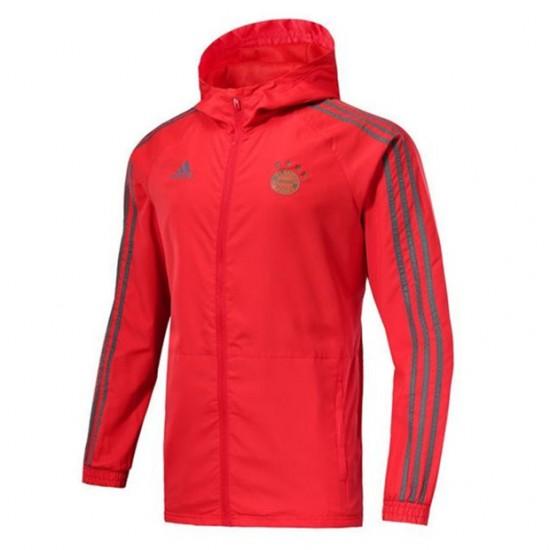 FC Bayern Teamline Red Jacket 18/19