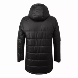 Bayern Munich Black Winter Football Jacket 2020 2021