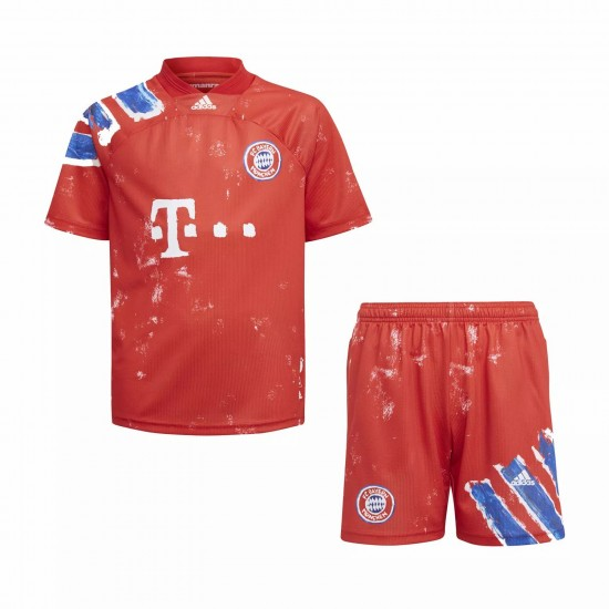 Bayern Munich Human Race Football Kit Kids 2020 2021