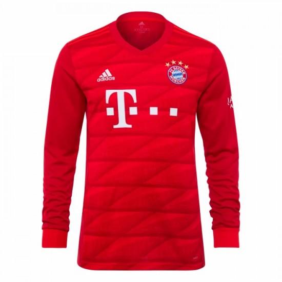 FC Bayern Shirt Home Longsleeve 19/20