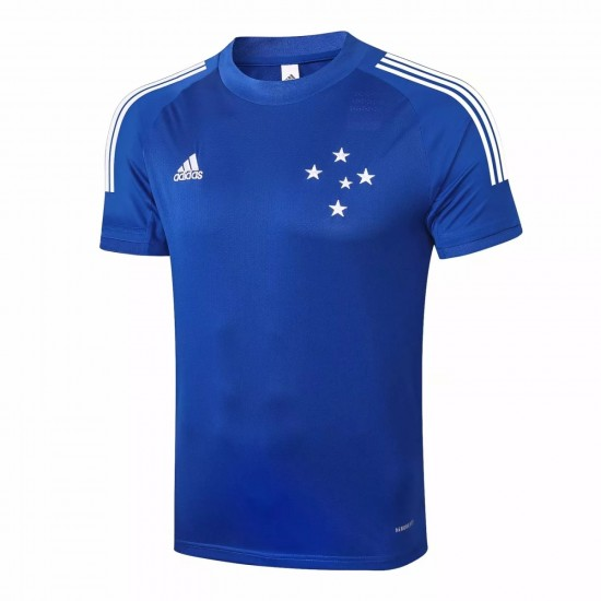 Adidas Cruzeiro Blue Training Jersey 2020