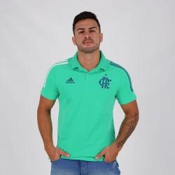 Adidas Flamengo 2020 Essentials Green Polo Shirt