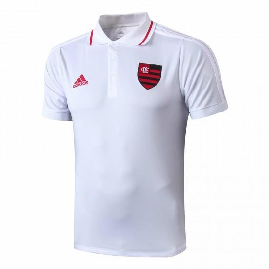 Flamengo White Polo Shirt 2019