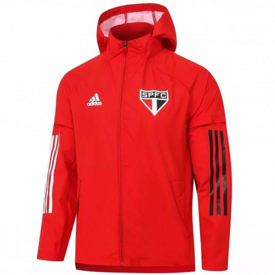 Adidas São Paulo 2020 Red Training Jacket