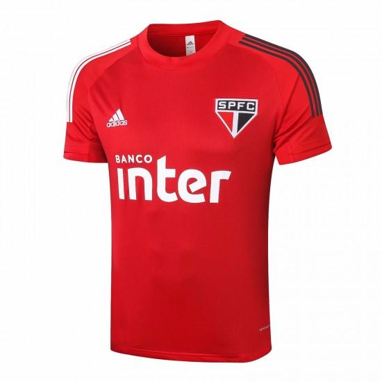 Adidas São Paulo Red Training 2020 Jersey