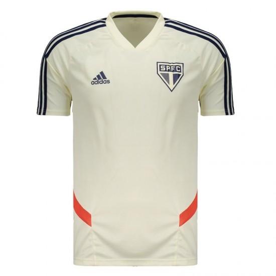 Adidas São Paulo Training 2019 White Jersey