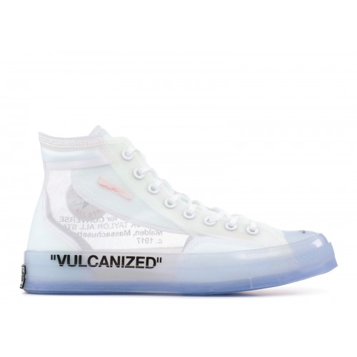 Converse Chuck 70 Hi Off-White Rubber Shoes