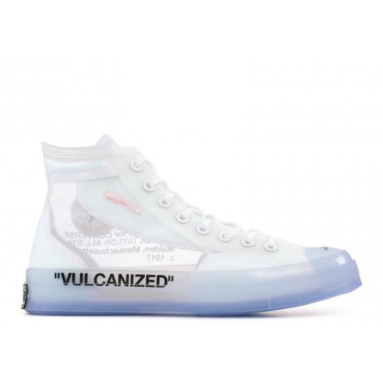 Converse Chuck 70 Hi Off-White Rubber Shoes