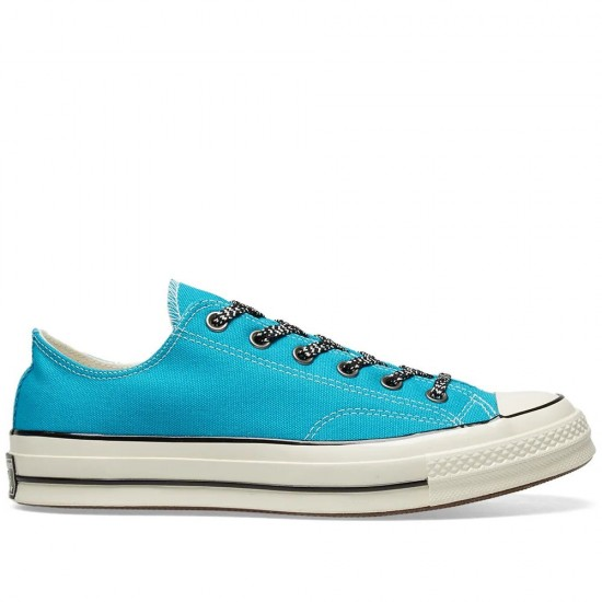 Chuck Taylor All-Star Low Top Teal Canverse Vntage Canvas Shoes