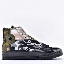 Converse Blocked Camo Mixes Matches Chuck 70 High Top