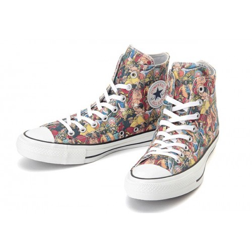 """One Piece"" Converse Chuck Taylor Tigh Top Shoes"