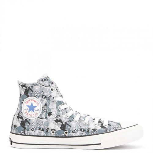 """One Piece"" X Converse All Star 100th Anniversary High Top Sneakers"