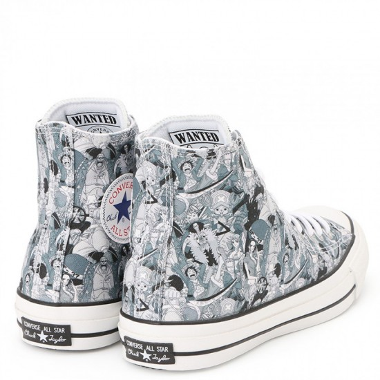 """""""One Piece"""" X Converse All Star 100th Anniversary High Top Sneakers"""