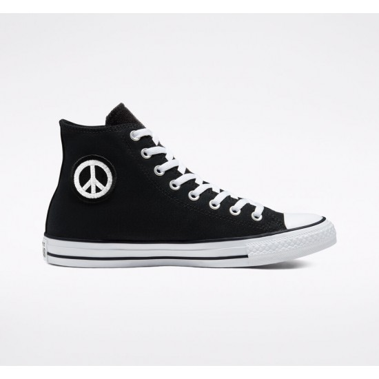 Converse Black Empowered Chuck Taylor All Star Unisex High Top Shoes