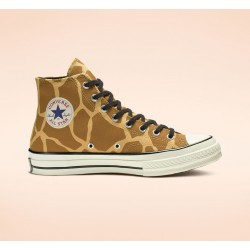 Converse Yellow Archive Print Chuck 70 Unisex High Top Shoe