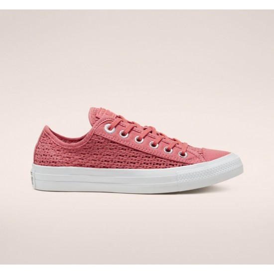 Converse Pink Summer Getaway Chuck Taylor All Star Womens Low Top Shoe