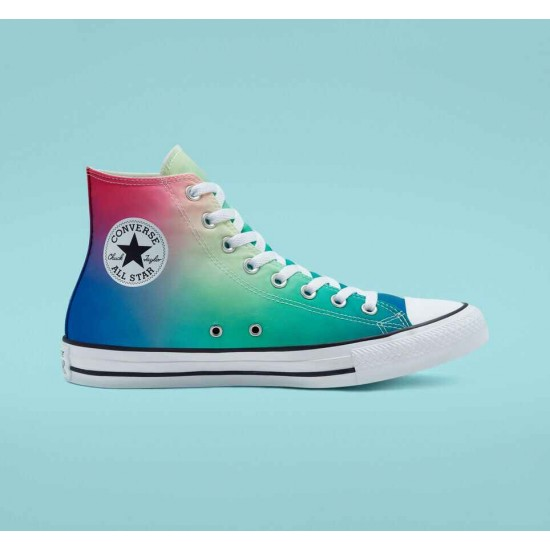 Converse Multi Psychedelic Hoops Chuck Taylor All Star Unisex High Top Shoe
