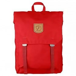 Fjallraven Foldsack No.1 Backpacks Red