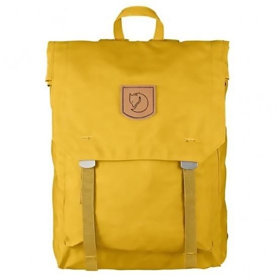 Fjallraven Foldsack No.1 Backpacks Yellow