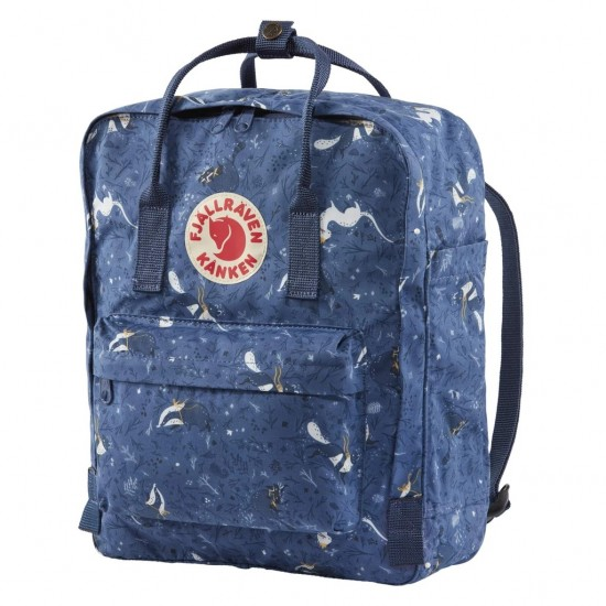 Fjallraven Kanken Art Backpack Blue Fable
