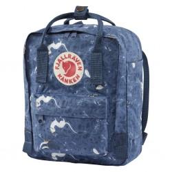 Fjallraven Kanken Art Mini Backpack Blue Fable