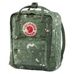 Fjallraven Kanken Art Mini Backpack Green Fable
